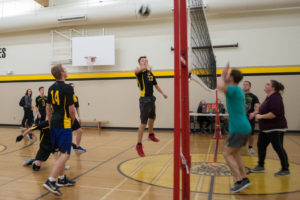 Senior Volleyball vs School Staff