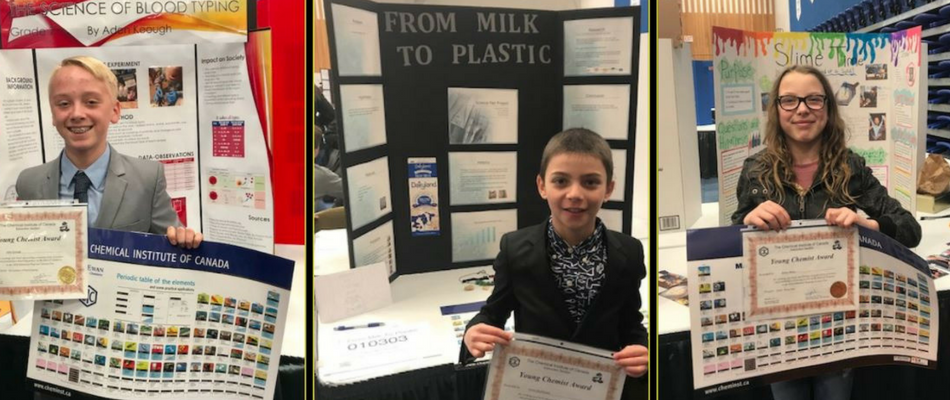 Local Students at Edmonton Science Fair – Click for Article