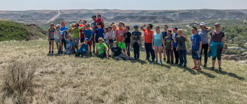 Grades 4 & 5 Field Trip to Drumheller – Click for Slideshow in Photo Galleries