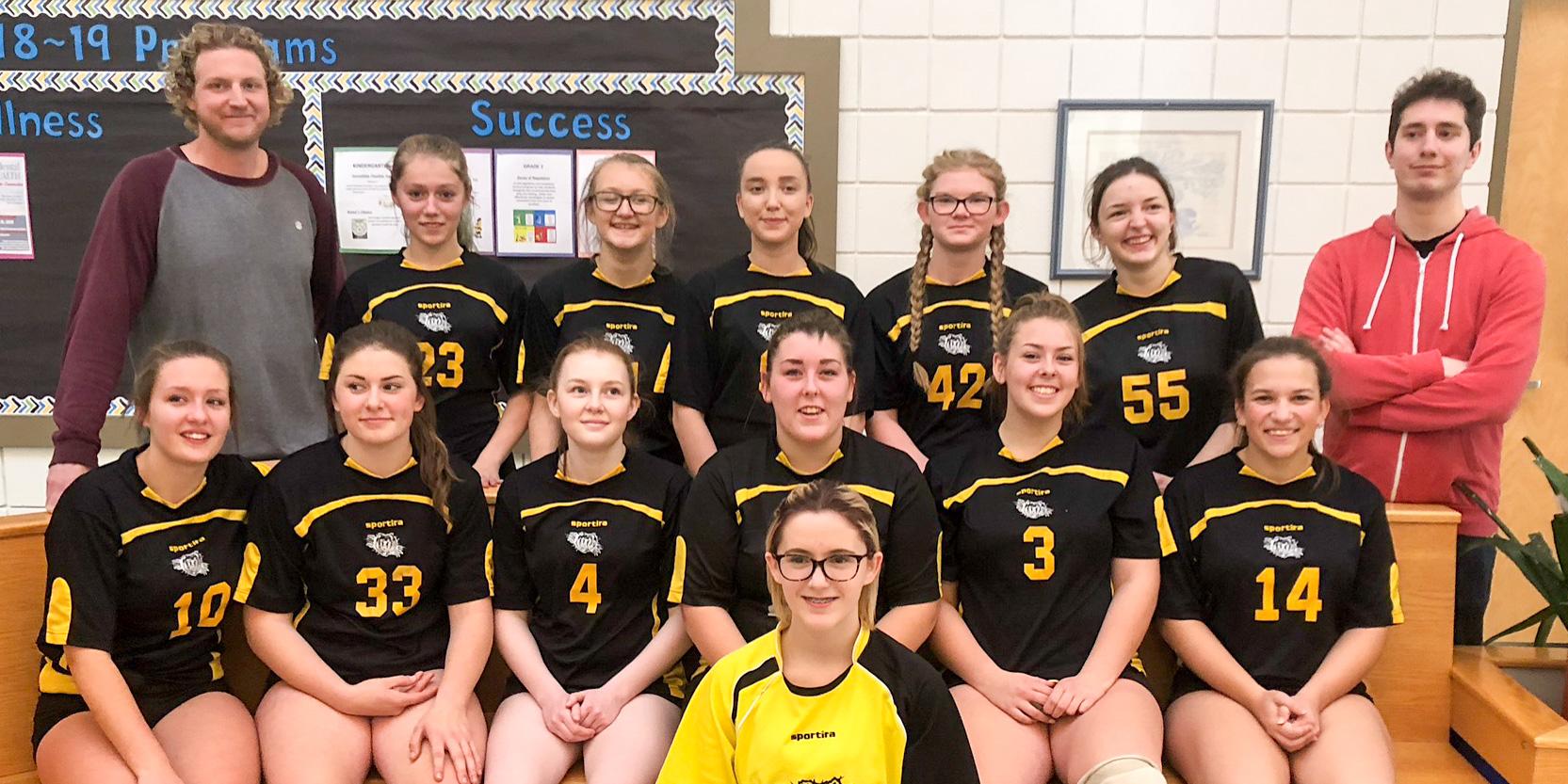 Senior Girls' Volleyball Team