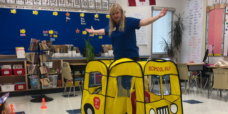 Lisa Tomaszewski from Safely on Board Spreads School Bus Safety Tips