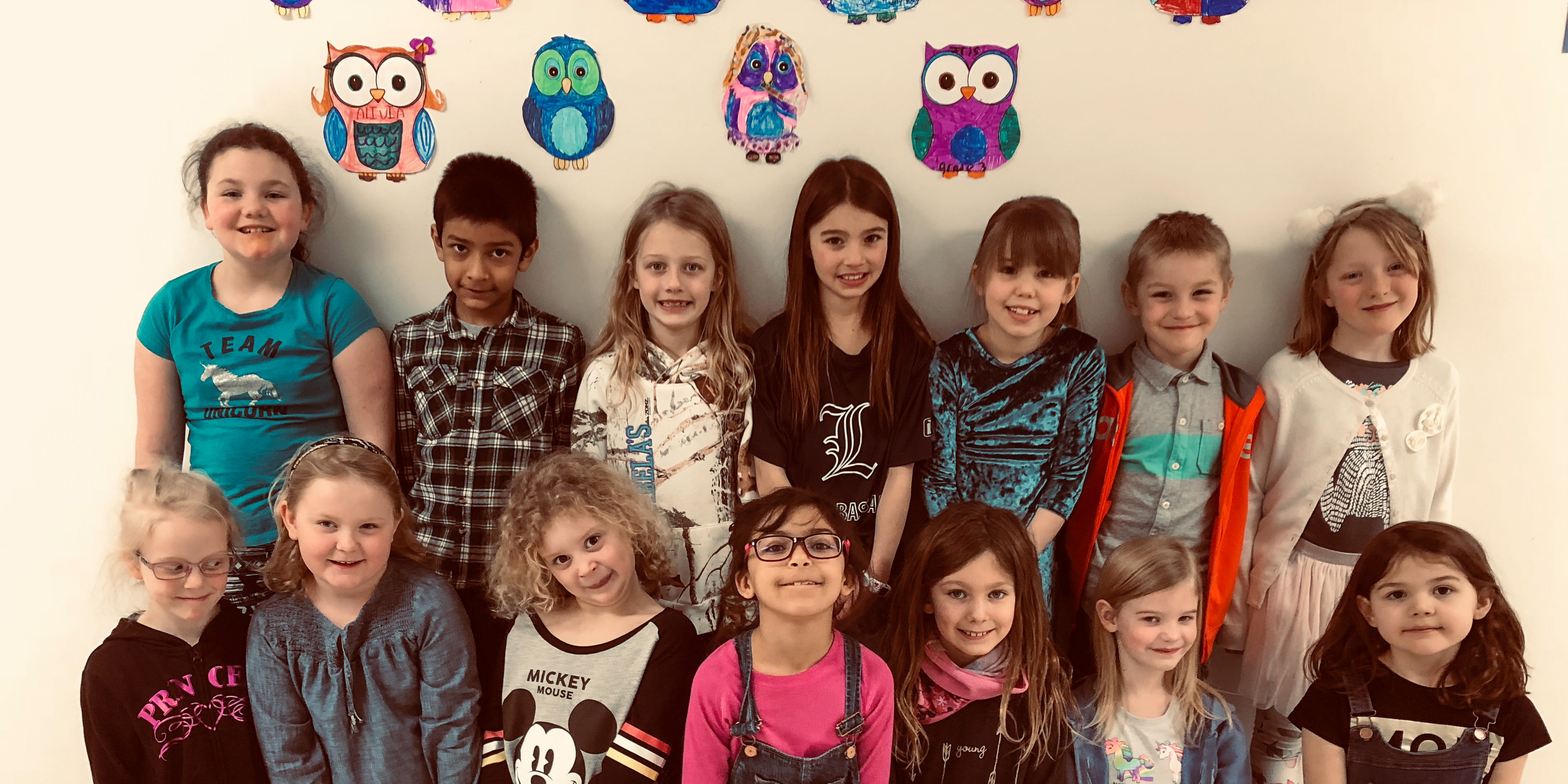Division 1 Whooo's Reading Owl Artists