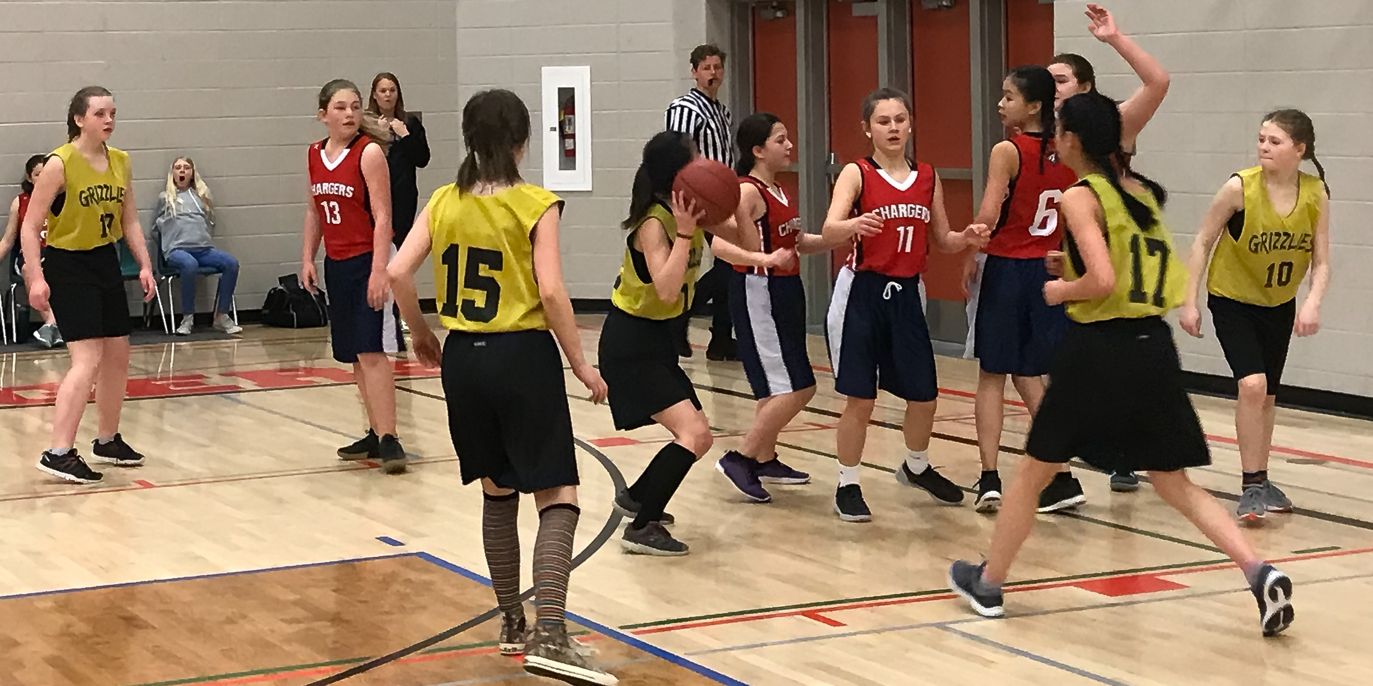 Jr. Girls' Basketball Team Takes 2nd Place at the Percy Baxter Fair Play Tournament March 16