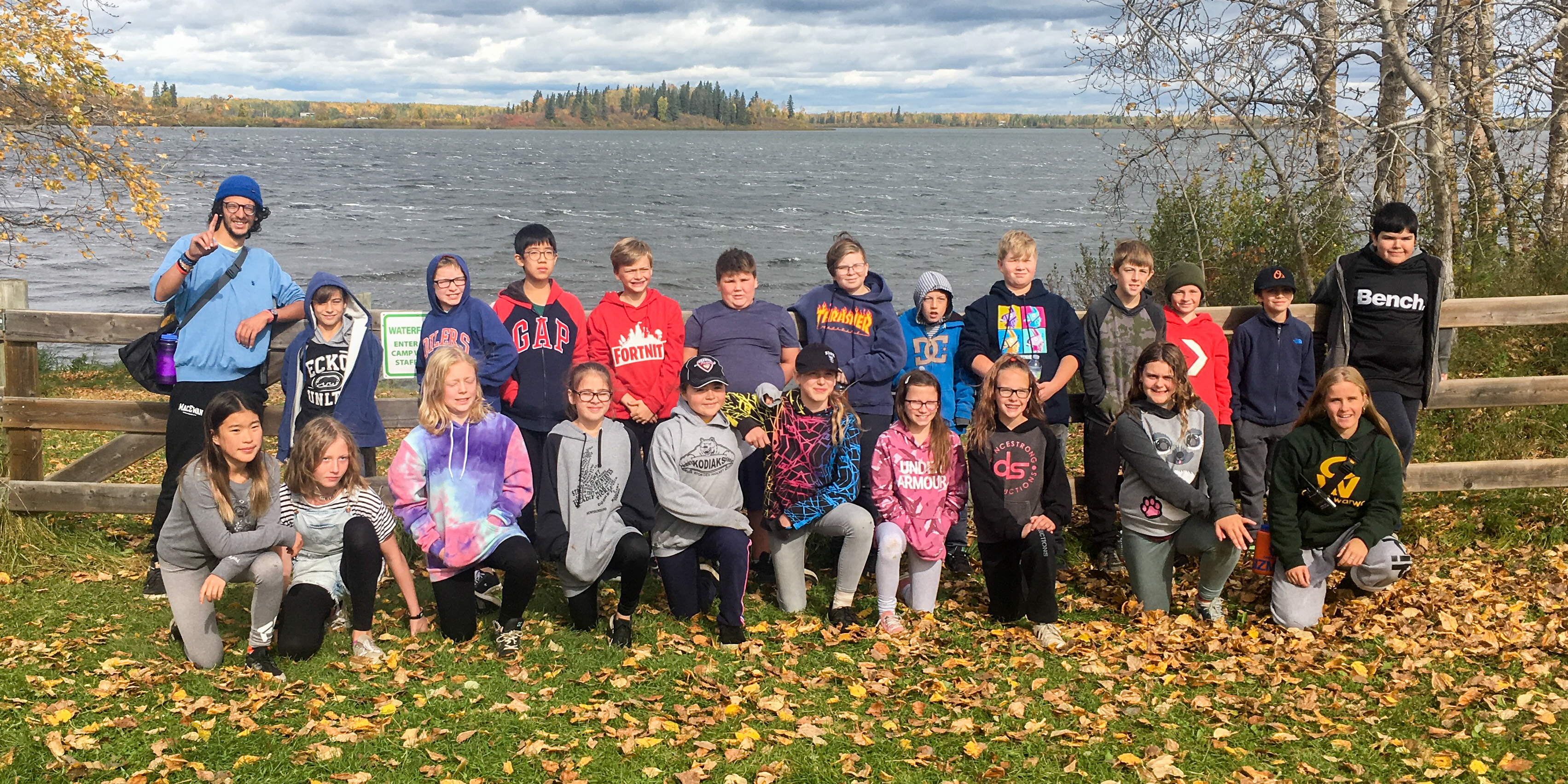 Grade 6 at Camp Warwa – Check out the Slideshow in Photo Galleries