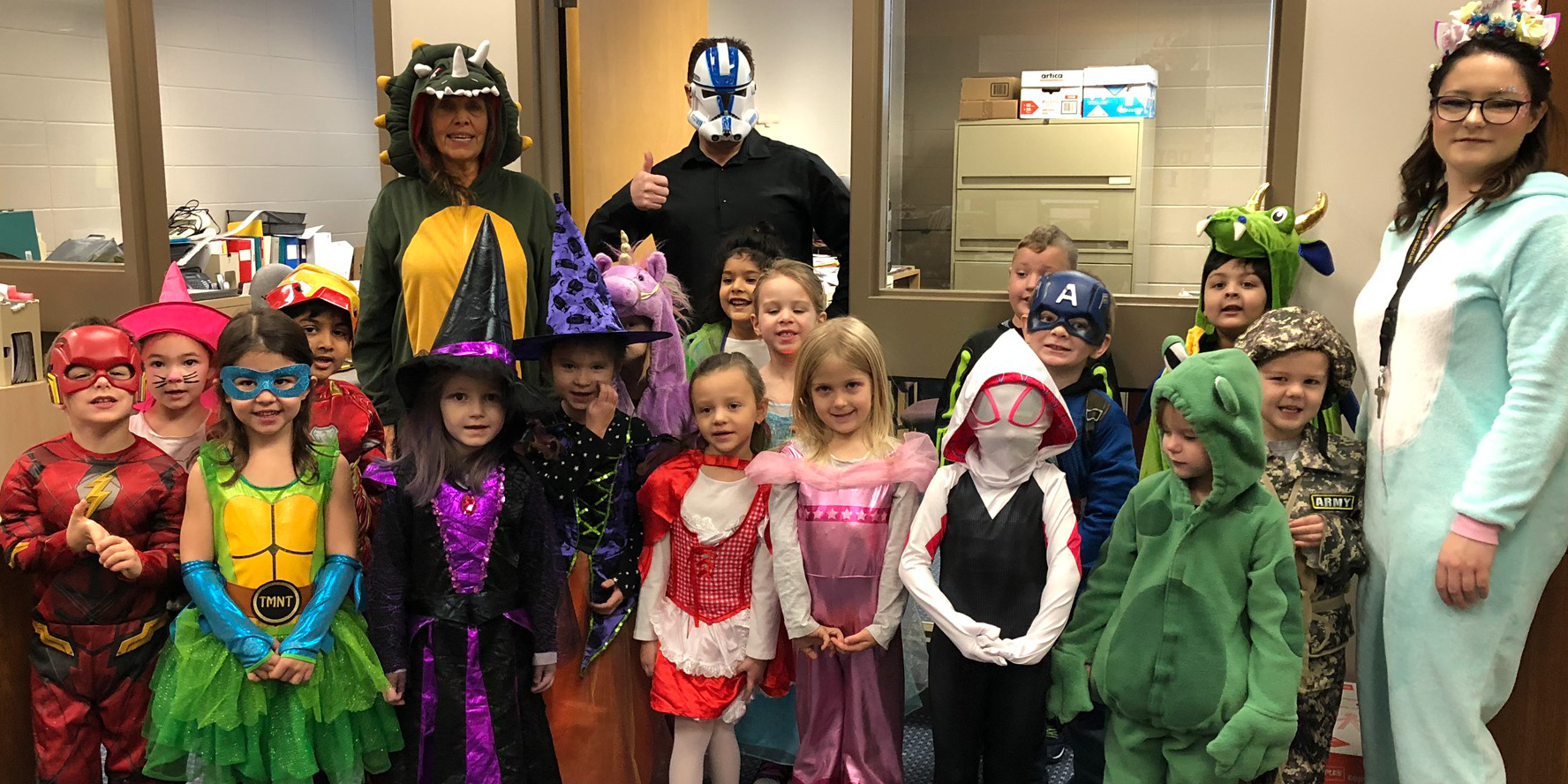 Kindergarten (Find our Leader)